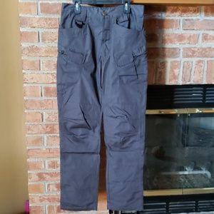 NWOT Gray Cargo Pants